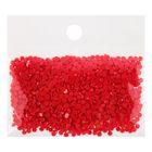 Стразы для алмазной вышивки, 10 гр, не клеевые, круглые d=2,5мм 666 Christmas Red Bright