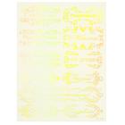 """Пленка-слайдер для декора """"Голографические надписи"""" (102-Gs)"""