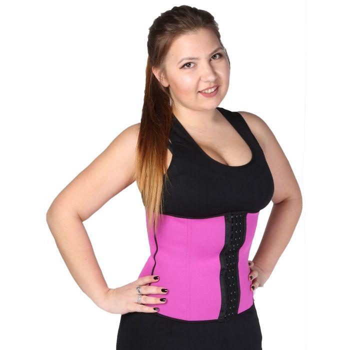 Корсет подтягивающий для фитнеса, размер S/M (46-48), цвета микс