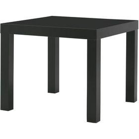 Придиванный столик, цвет черный ЛАКК