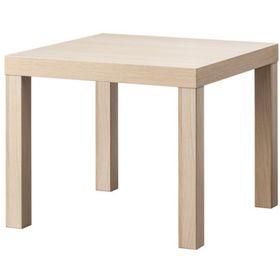 Придиванный столик, цвет под беленый дуб ЛАКК