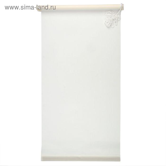 """Штора-ролет 100х160 см """"Комфортиссимо"""", цвет белый"""