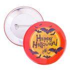 """Значок закатной """"Happy Halloween"""""""