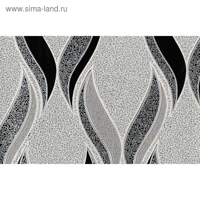 Обои виниловые Белвинил Графит-21 серые 1,06x10 м