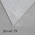 Материал укрывной, 10 х 1.6 м, плотность 20, УФ, белый