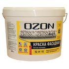Краска фасадная OZON-Basic ВД-АК 111М акриловая 0,9 л (1,3 кг)