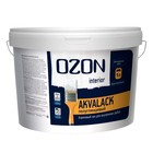 Лак универсальный акриловый OZON Akvalack-interior 9 л (9 кг)