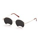 Перфорационные очки-тренажеры детские, золото