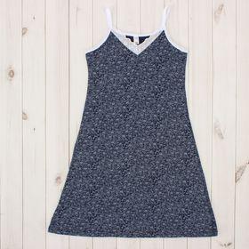 Сорочка женская 31220 цвет синий, р-р 48