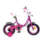 "Велосипед 12"" Graffiti Fashion Girl RUS, цвет фиолетовый"