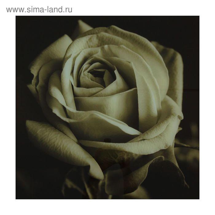"""Картина на стекле """"Роза"""""""