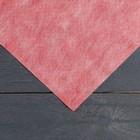 Материал укрывной, двухслойный, 5 х 1.6 м, плотность 60 г/м², УФ, бело-красный