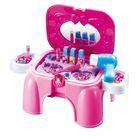 """Игровой набор  """"Салон красоты"""" (сборный, чемодан-стульчик, аксессуары, звук) Altacto ALT0202-105   2"""