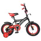 """Велосипед 12"""" Graffiti Storman RUS, цвет чёрный"""