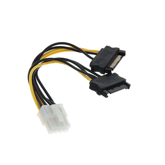 Разветвитель питания Cablexpert CC-PSU-83, 2xSATA-PCI-Express 8pin, для подключения к б/п