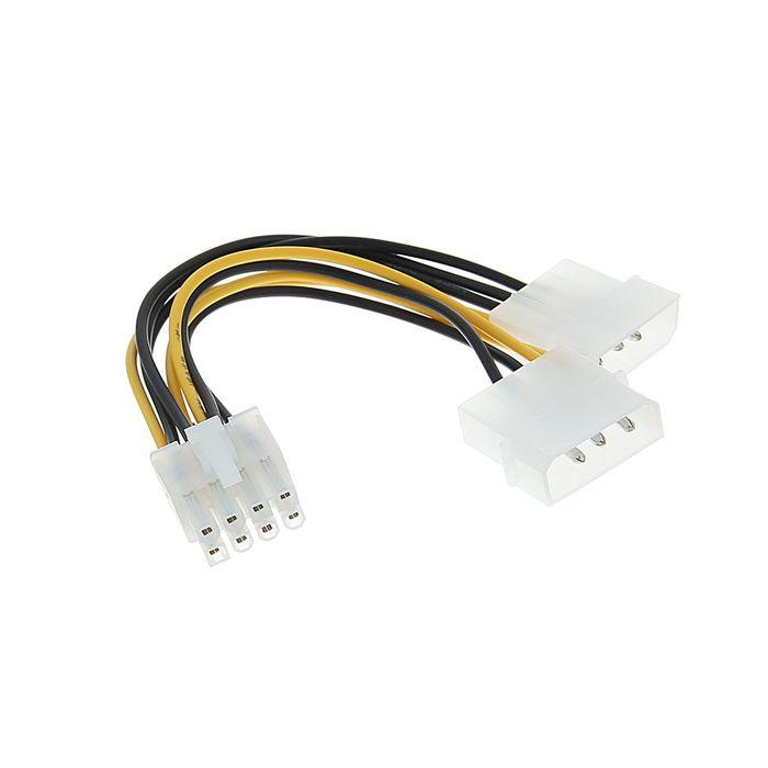 Разветвитель питания Cablexpert CC-PSU-81, 2хMolex-PCI-Express 8pin, для подключения к б/п