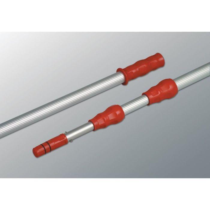 Ручка металлическая 2х125 см, цвет красный