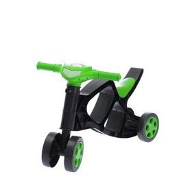 Толокар «Мини-байк», цвет: чёрно-зелёный