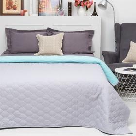 Покрывало Этель Ультрастеп Краски сна, размер 150х215 см, цвет серо-голубой, 90 г/м2