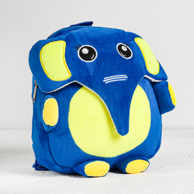 """Мягкий рюкзак """"Слоник"""" желтый животик"""