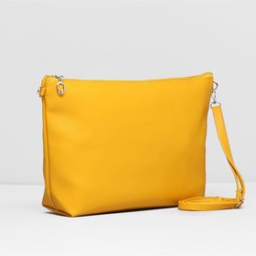 Сумка жен Классика, 30*7*22см, отдел на молнии, регул ремень, ярко желтый