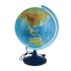 Глобус физический «КлассикЕвро», диаметр 400 мм, с подсветкой