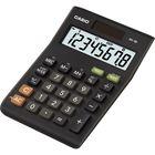 Калькулятор настольный Casio MS-8B 8-разрядный черный