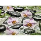 Фотообои Komar 4-318 Галька и орхидея 2,54x1,84 м (состоит из 4 частей)