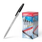 Ручка шариковая Erich Krause R-301 Classic, узел 1.0 мм, стержень черный, EK 43185, штрихкод на ручке