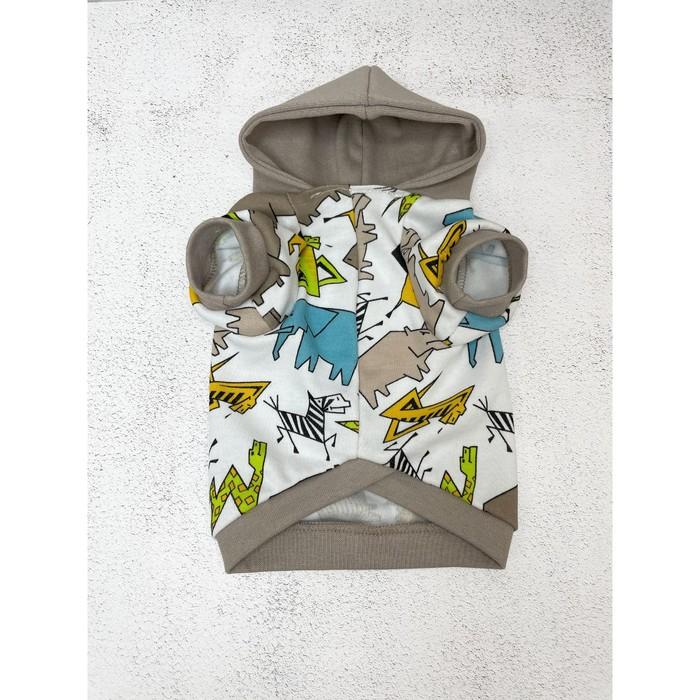 Футболка OSSO с капюшоном для собак, размер 30