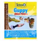 Корм для рыб TetraGuppy  12гр пакет мини-хлопья
