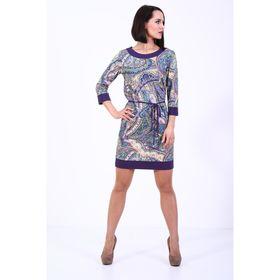 Платье женское, размер 48, яркий принт 234Д355
