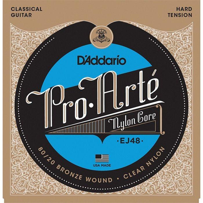 Струны для классической гитары D`Addario EJ48 PRO ARTE Hard