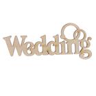 """Декоративное слово для творчества из фанеры """"Wedding"""" 2,8х7х0,4см (ДЭК-042)"""