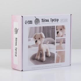 Набор для вязания : Мягкая игрушка «Пёсик Тревор»