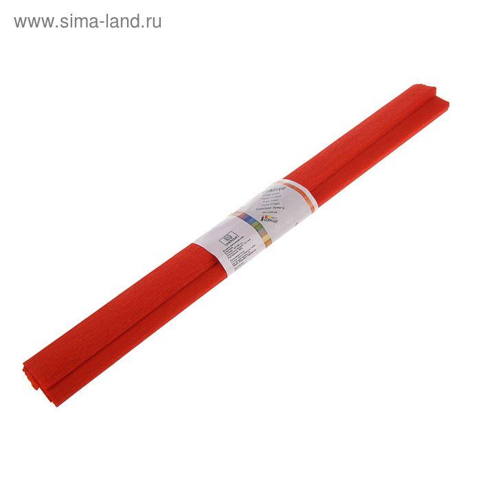Бумага крепированная 50x250см, 32 г/м², терракотовая, растяжение 55%, в рулоне
