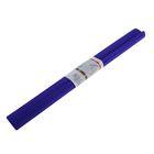 Бумага крепированная 50x250см, 32 г/м², темно-фиолет., растяжение 55%, в рулоне