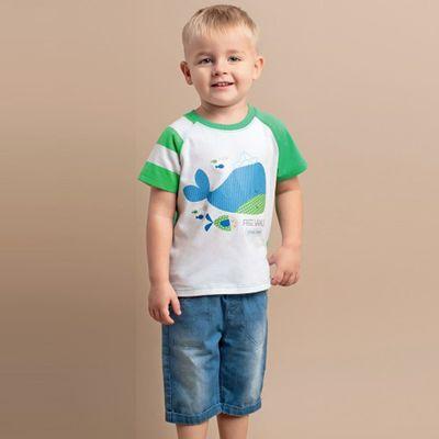 Бриджи для мальчика, рост 74 см, цвет синий ШР370_М