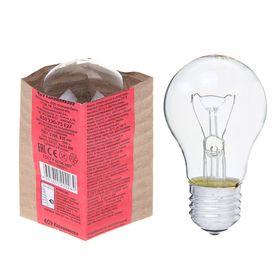 Лампа накаливания А50, 75 Вт, E27, 230 В, КЭЛЗ