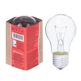 Лампа накаливания А50, 40 Вт, E27, 230 В, КЭЛЗ Ош
