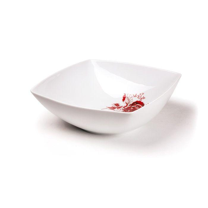Салатник, форма Kyoto, декор: Noblesse Roug, 21 см
