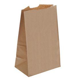 Пакет крафт бумажный фасовочный, 18 х 12 х 29 см