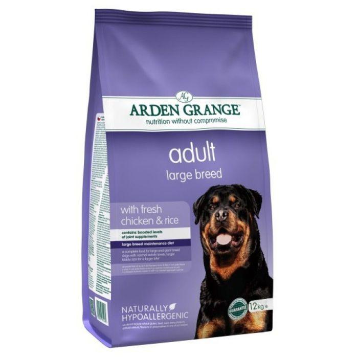 Сухой корм Arden Grange для взрослых собак крупных пород, 12 кг.