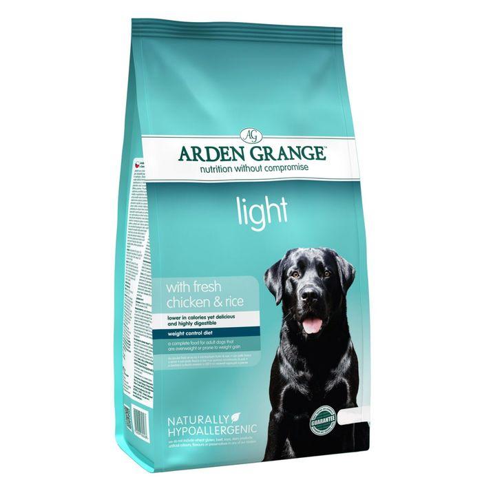 Сухой корм Arden Grange  для взрослых собак, диетический, 2 кг.
