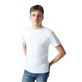 Футболка мужская арт.FM0110101011 цвет белый, р-р 56 (XXXL)