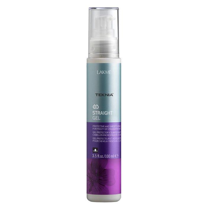 LAKME Teknia Straight Treatment Гель для придания гладкости непослушным волосам, 100 мл