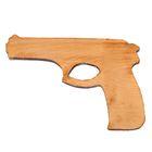 """Сувенир деревянный """"Пистолет"""", бук"""