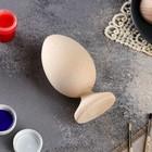 Яйцо на подставке деревянное, декупаж, 11х7 см
