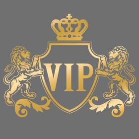"Наклейка на авто ""VIP"""