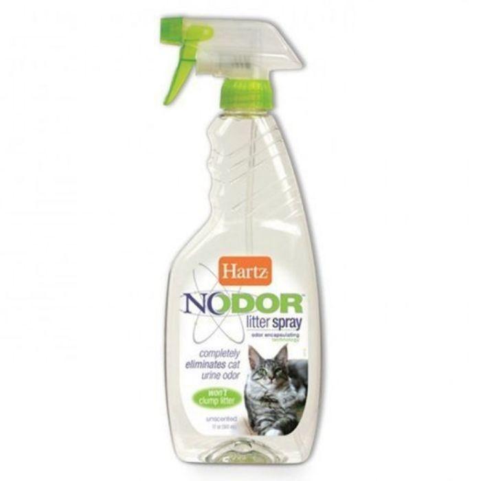 Средство, уничтожающее запахи Hartz в кошачьих туалетах, без ароматизатора, 503 мл